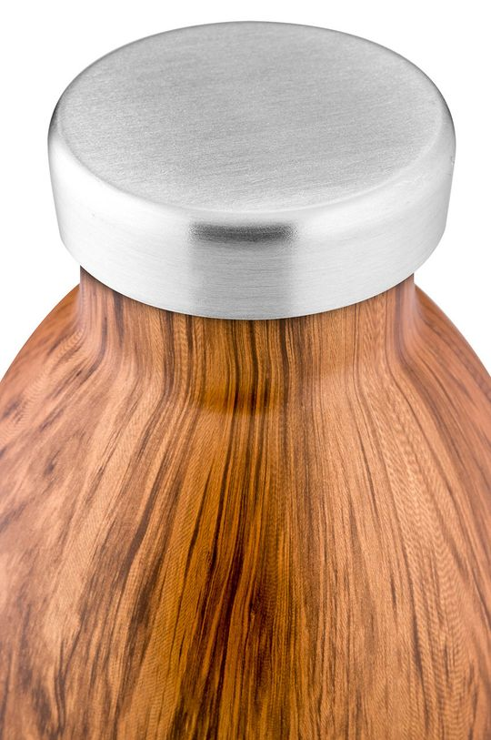 24bottles - Butelka termiczna Clima Sequoia Wood 330ml brązowy