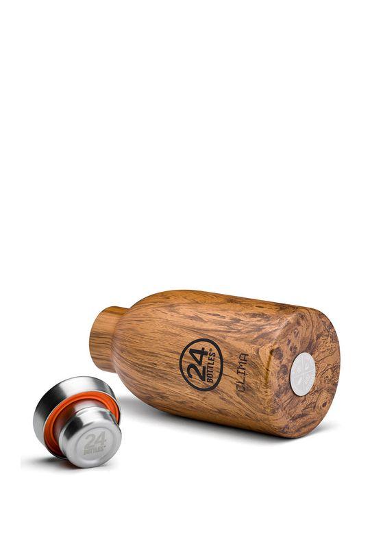24bottles - Butelka termiczna Clima Sequoia Wood 330ml Stal nierdzewna