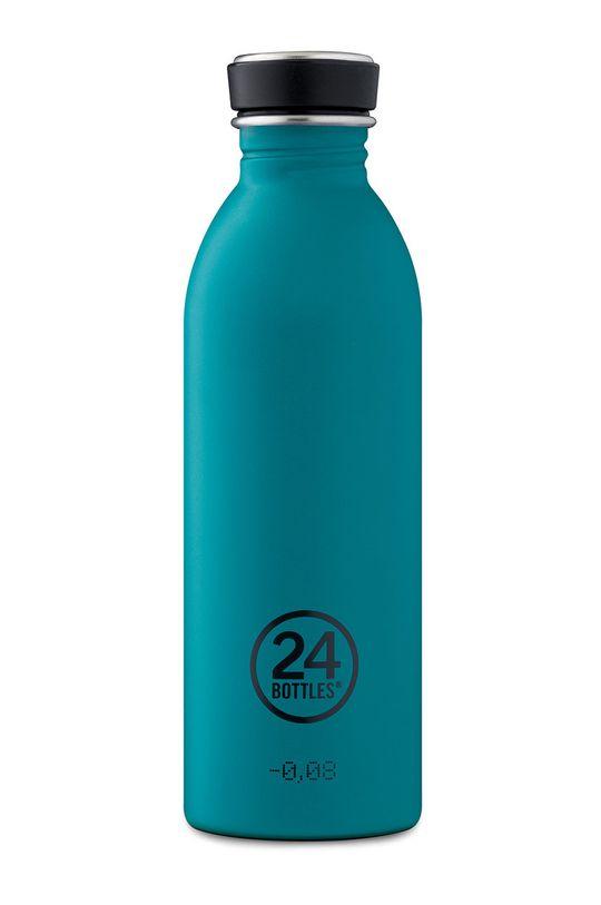 niebieski 24bottles - Butelka Urban Bottle Atlantic Bay 500ml Unisex