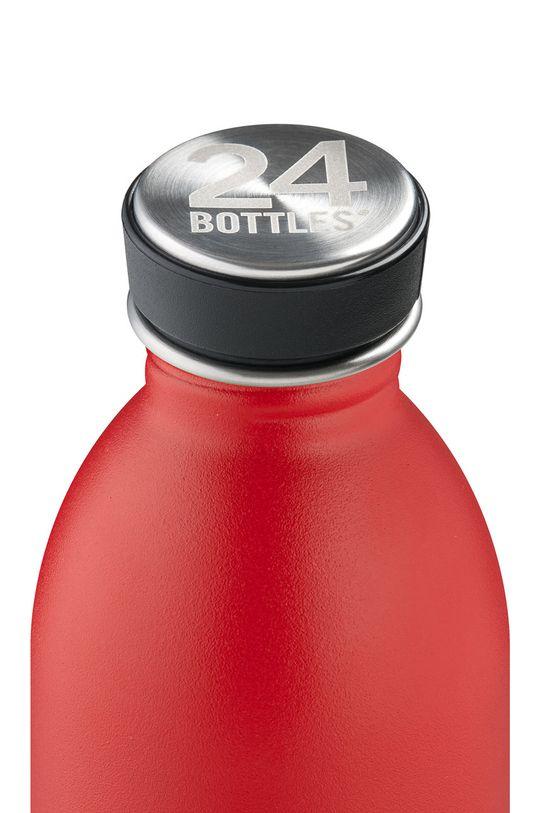 24bottles - Butelka Urban Bottle Hot Red 500ml czerwony