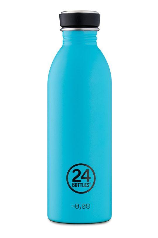 morski 24bottles - Butelka Urban Bottle Lagoon Blue 500ml Unisex
