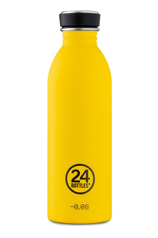 żółty 24bottles - Butelka Urban Bottle Taxi Yellow 500ml Unisex