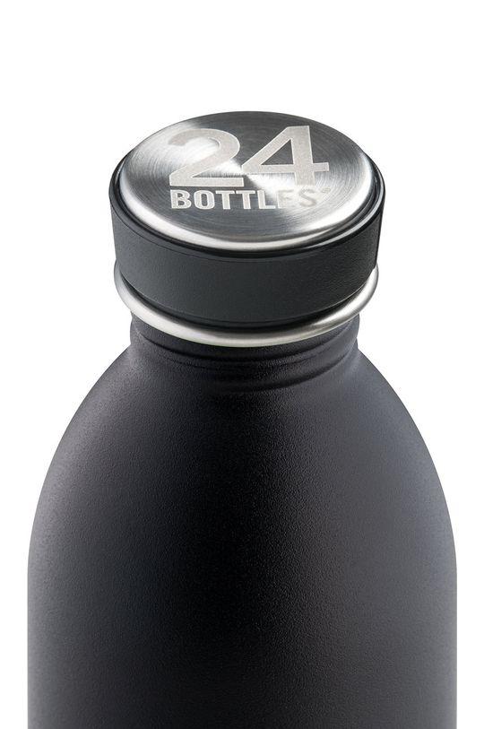 24bottles - Butelka Urban Bottle Tuxedo Black 500ml czarny