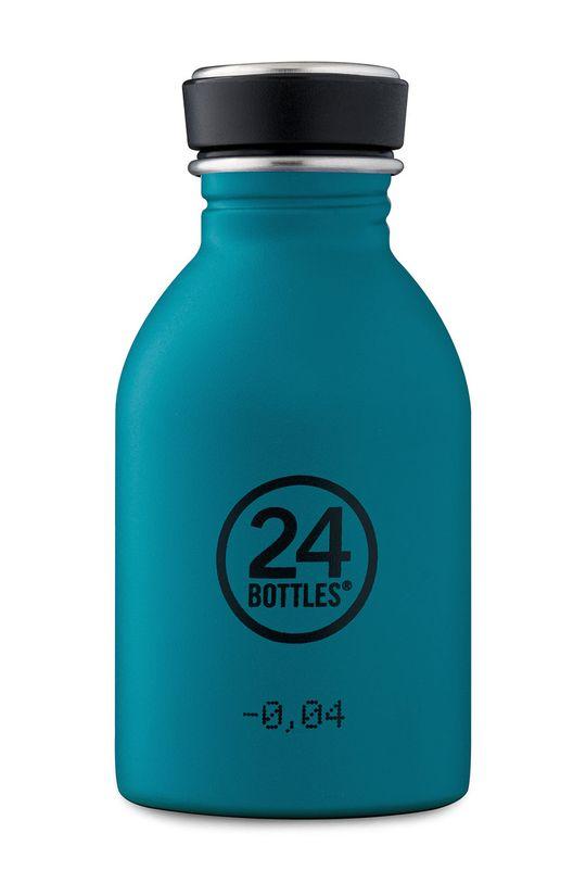 niebieski 24bottles - Butelka Urban Bottle Atlantic Bay 250ml Unisex