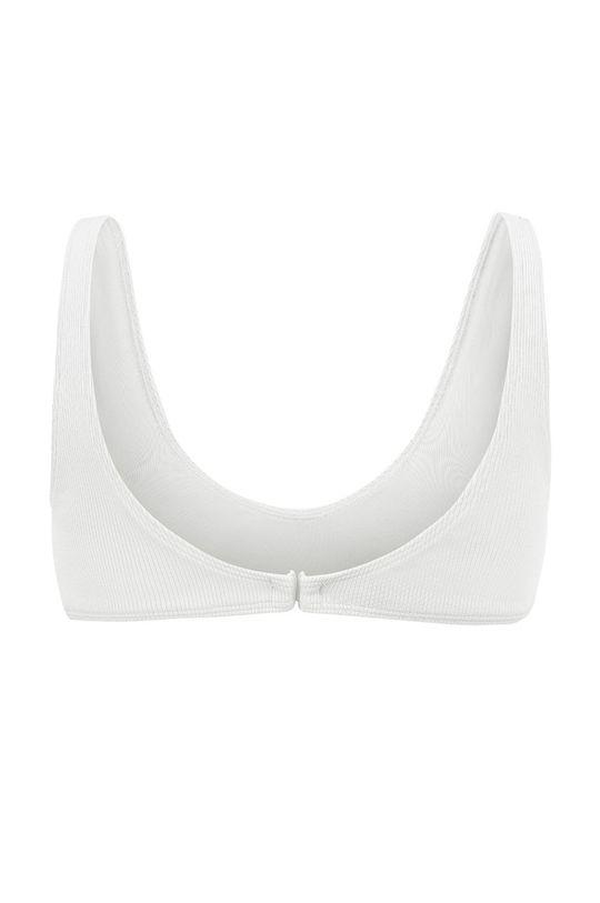 biały MUUV - Biustonosz kąpielowy Basic Bralette