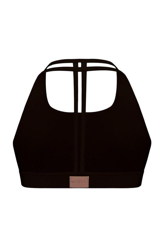 czarny MUUV - Biustonosz sportowy II Shape Light