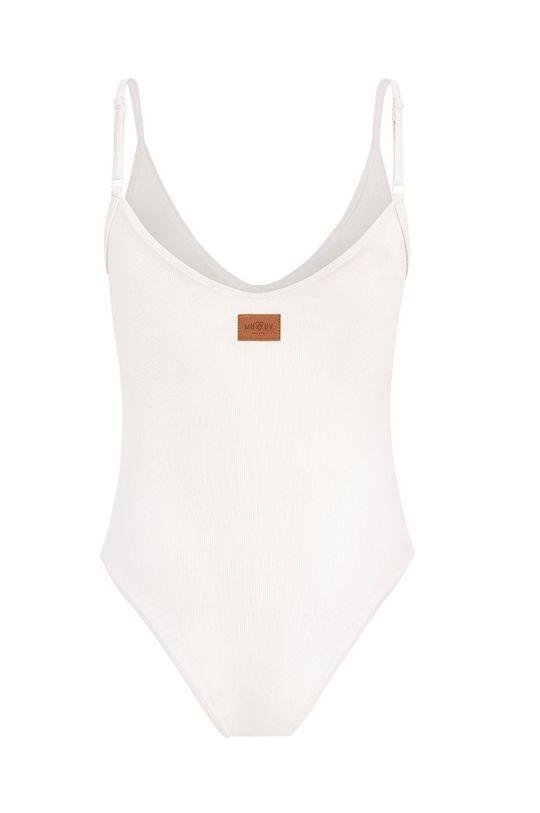 biela MUUV - Plavky Cleavage Plunge