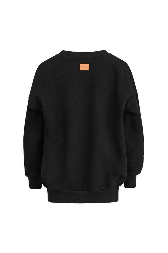 negru MUUV - Hanorac de bumbac Soft Touch