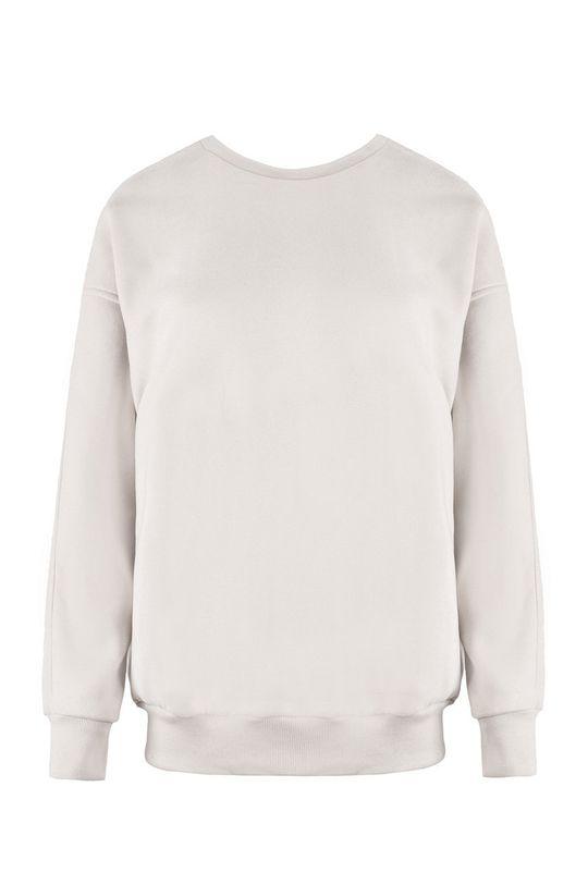 MUUV - Bluza bawełniana Soft Touch kremowy