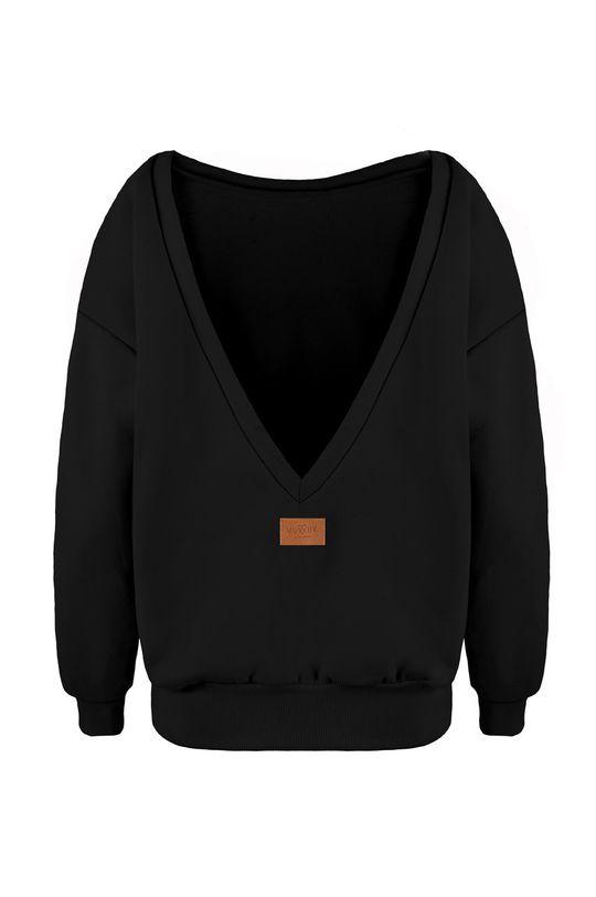 czarny MUUV - Bluza bawełniana Soft Touch