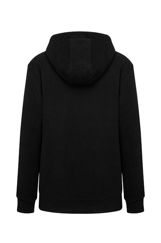 čierna MUUV - Bavlnená mikina Smooth Cotton