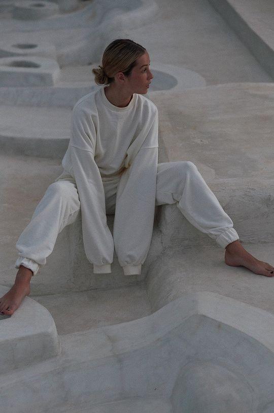 biały MUUV. - Bluza bawełniana Mild Cotton Damski