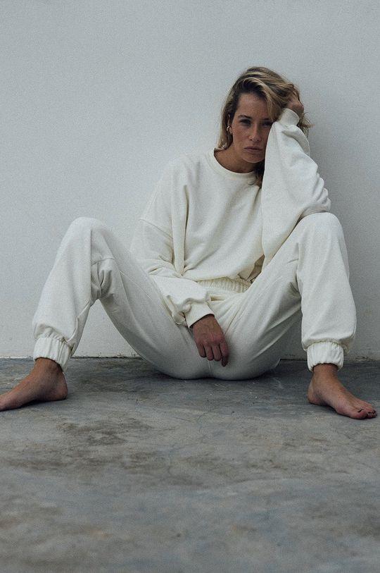 biały MUUV. - Bluza bawełniana Mild Cotton