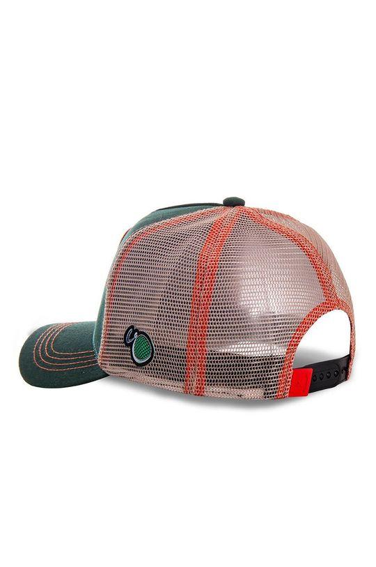 ciemny zielony Capslab - Czapka z daszkiem