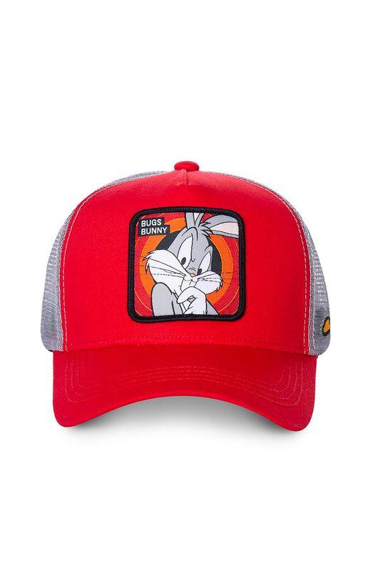 Capslab - Czapka czerwony