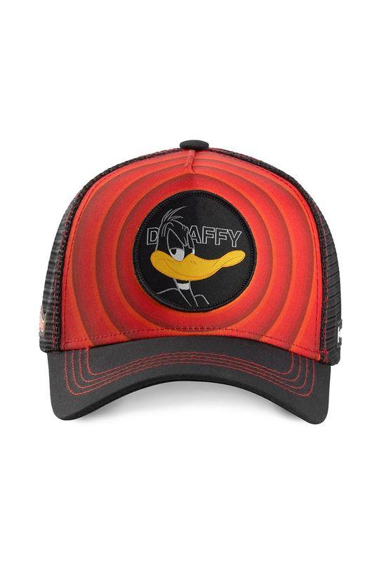 Capslab - Czapka z daszkiem czerwony