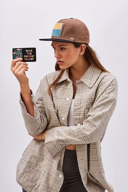 Next generation headwear - Sapca masliniu deschis