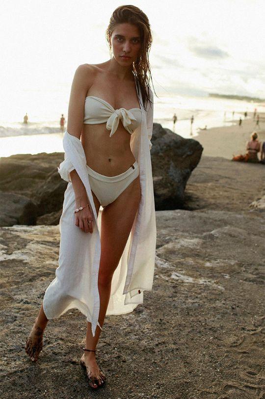 biela MUUV - Šaty Beach Shirt Dámsky