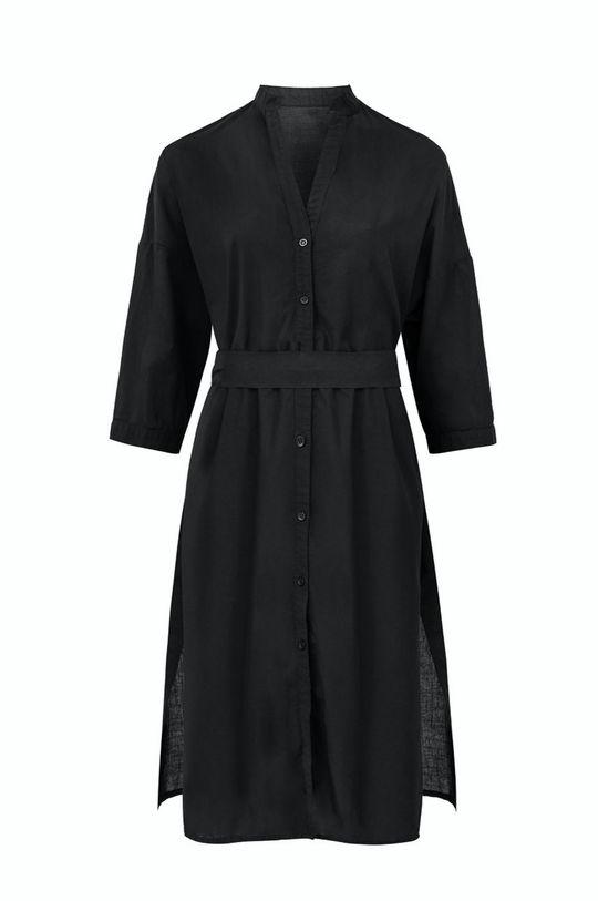 czarny MUUV - Sukienka Beach Shirt