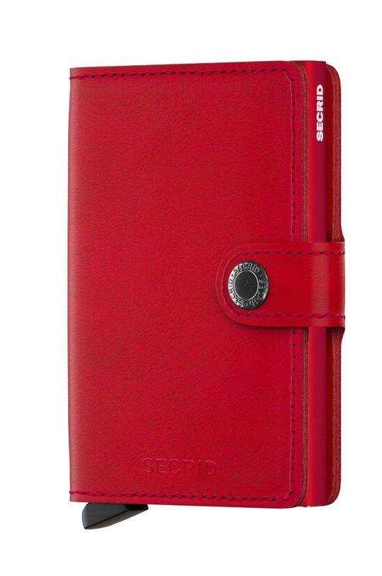червоний Secrid - Шкіряний гаманець Жіночий
