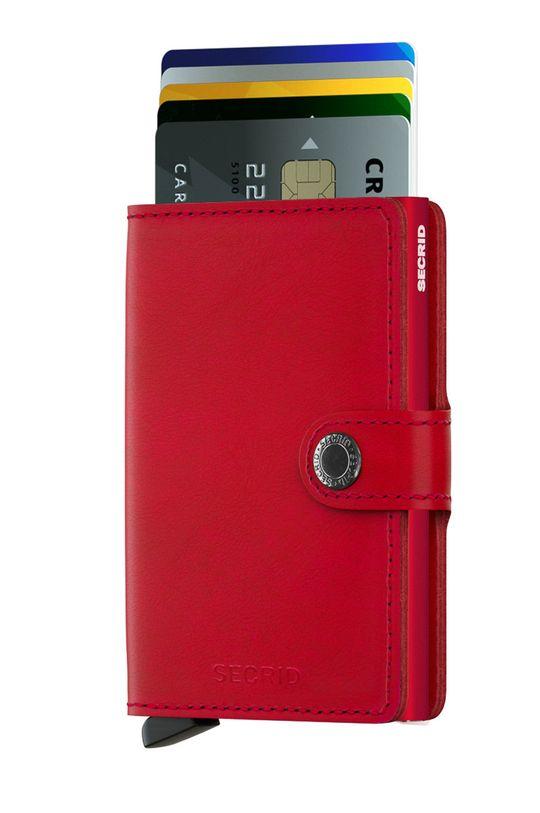 Secrid - Шкіряний гаманець червоний