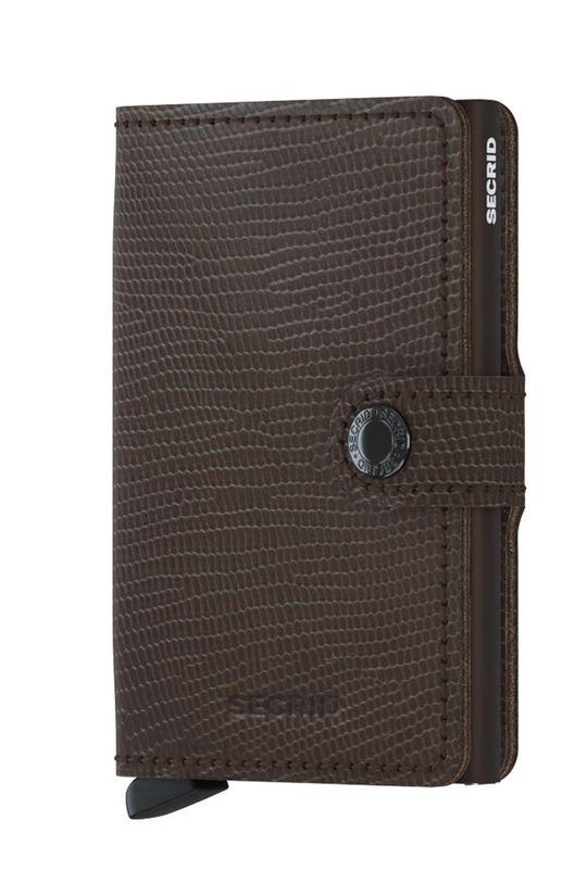 Secrid - Portfel skórzany brązowy