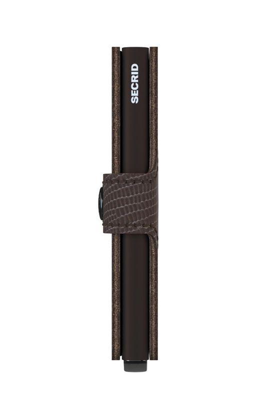 brązowy Secrid - Portfel skórzany