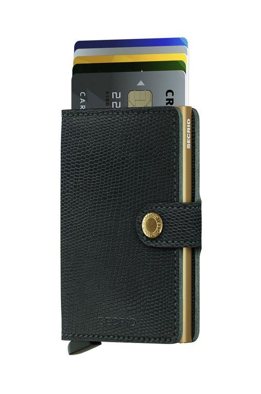 černá Secrid - Kožená peněženka Dámský