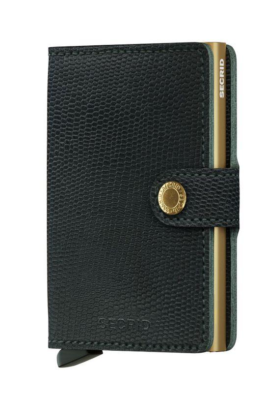 Secrid - Kožená peněženka černá
