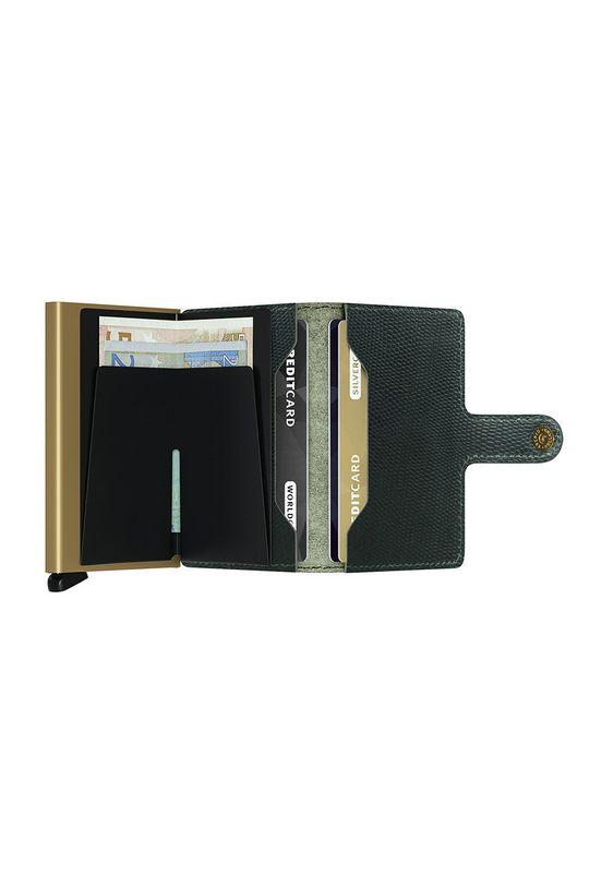 Secrid - Kožená peněženka  Materiál č. 1: Hliník Materiál č. 2: Přírodní kůže