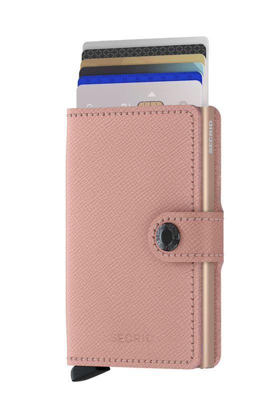 Secrid - Kožená peňaženka ružová
