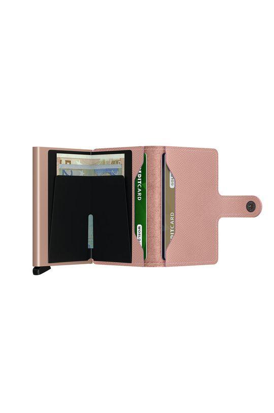 Secrid - Kožená peňaženka  1. látka: 100% Hliník 2. látka: 100% Prírodná koža