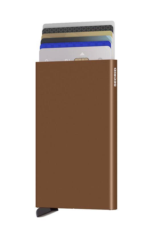 Secrid - Portfel brązowy