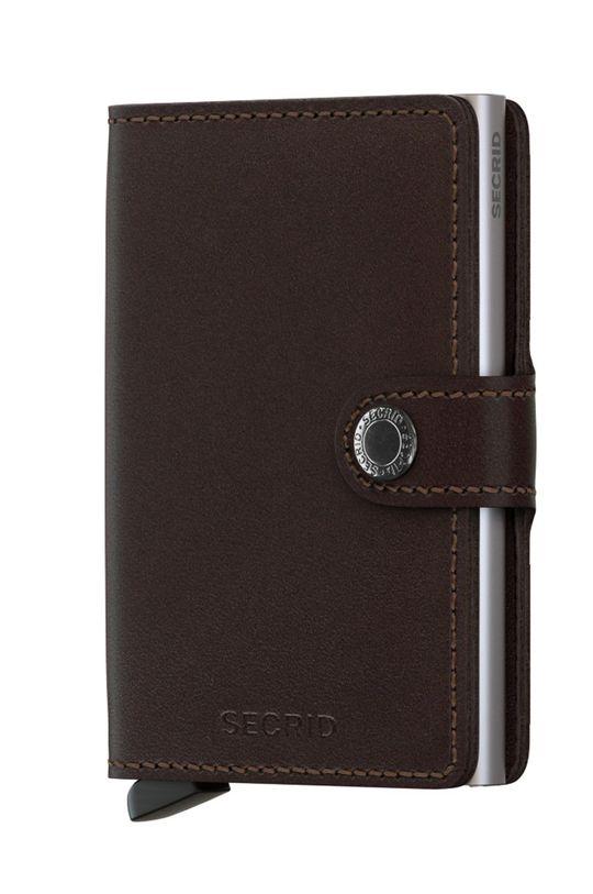 hnedá Secrid - Kožená peňaženka Unisex