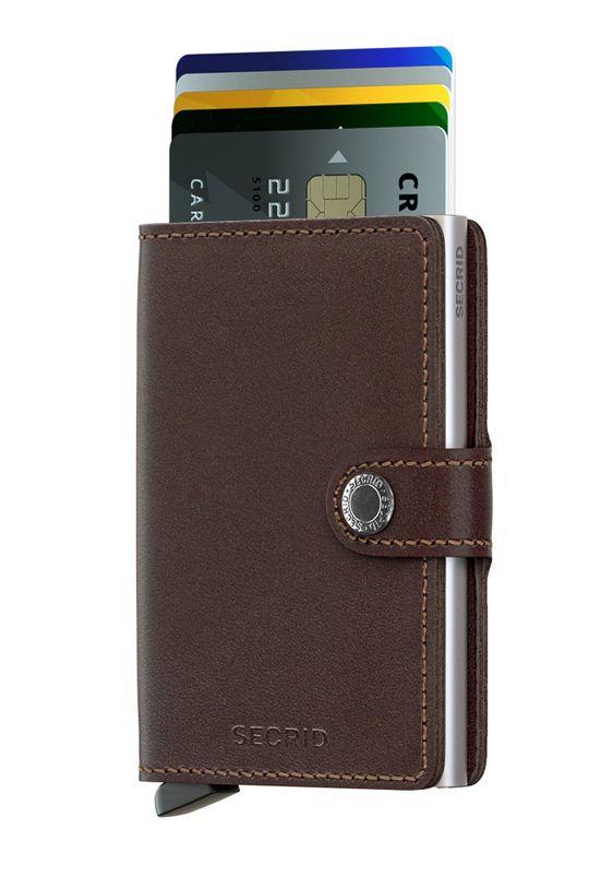 Secrid - Kožená peňaženka hnedá