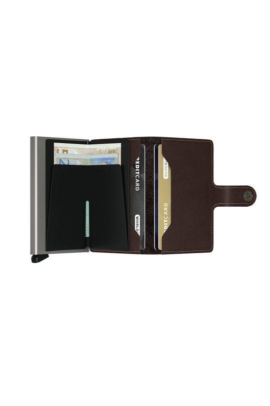 Secrid - Kožená peňaženka  1. látka: 100% Prírodná koža 2. látka: 100% Hliník