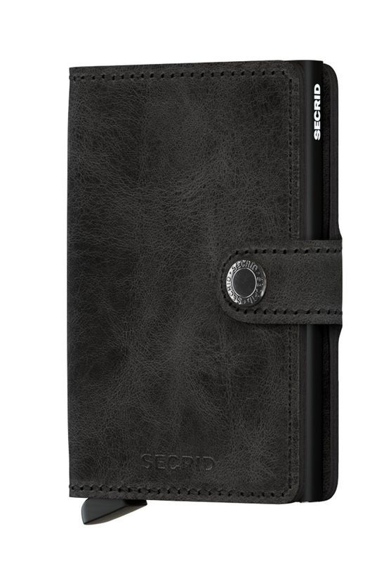 čierna Secrid - Kožená peňaženka Unisex