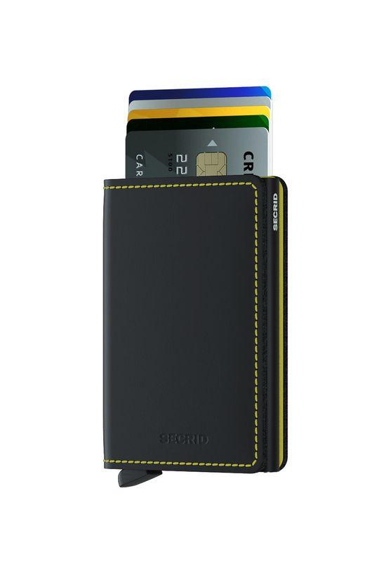 Secrid - Kožená peňaženka čierna