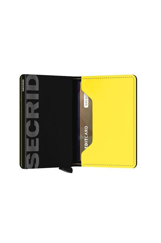 Secrid - Kožená peňaženka  1. látka: Prírodná koža 2. látka: Hliník