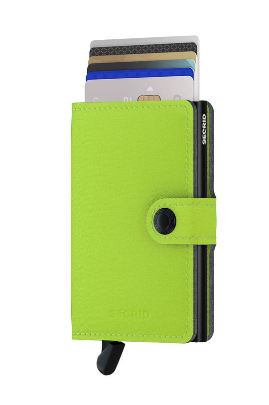 Secrid - Portfel MY.Lime żółto - zielony