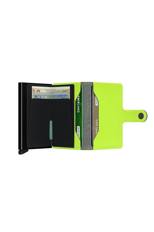 żółto - zielony Secrid - Portfel MY.Lime