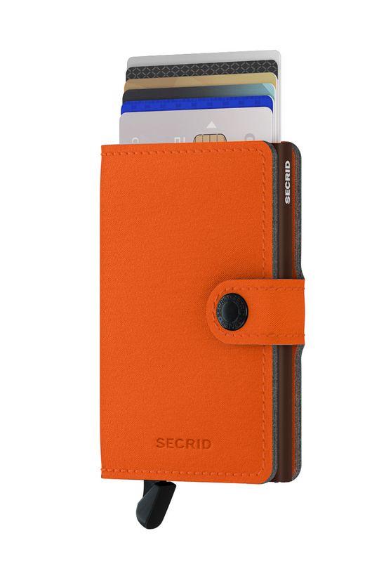 Secrid - Portfel pomarańczowy