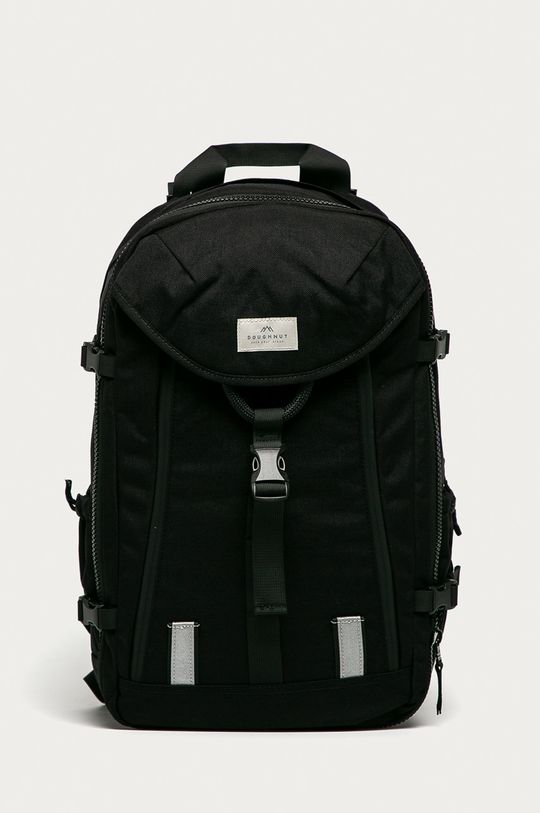 czarny Doughnut - Plecak Unisex
