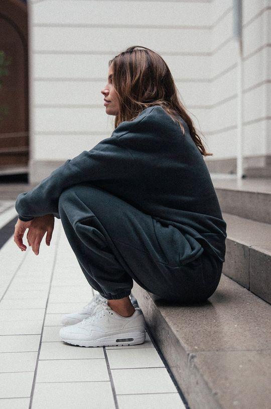 MUUV - Pantaloni Smooth Cotton gri