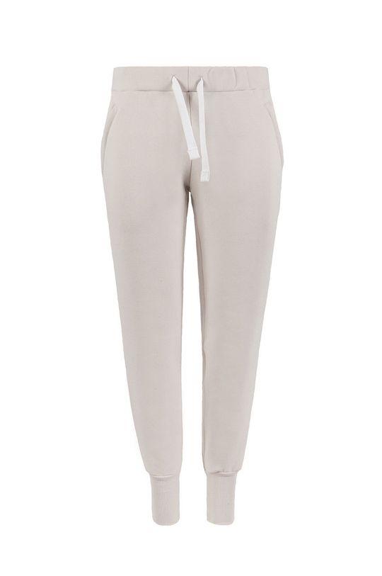 kremowy MUUV. - Spodnie Soft Touch Damski