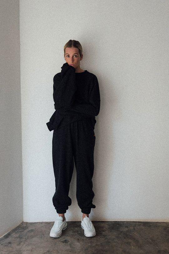 negru MUUV. - Pantaloni Mild Cotton De femei