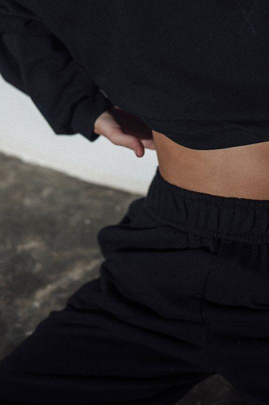 negru MUUV. - Pantaloni Mild Cotton
