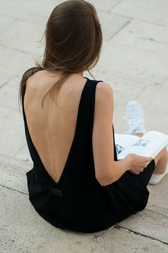 MUUV - Sukienka Skategirl czarny