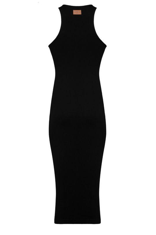 čierna MUUV - Šaty Racer