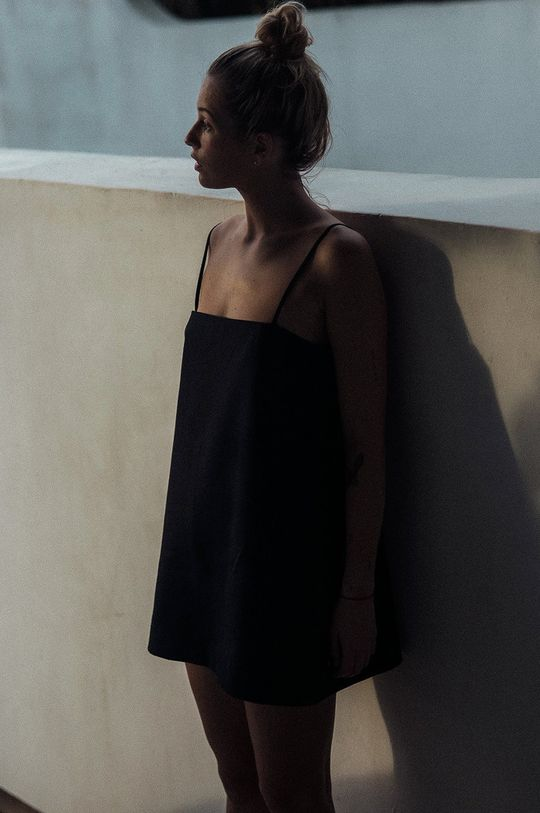 MUUV. - Rochie The Kinky One negru